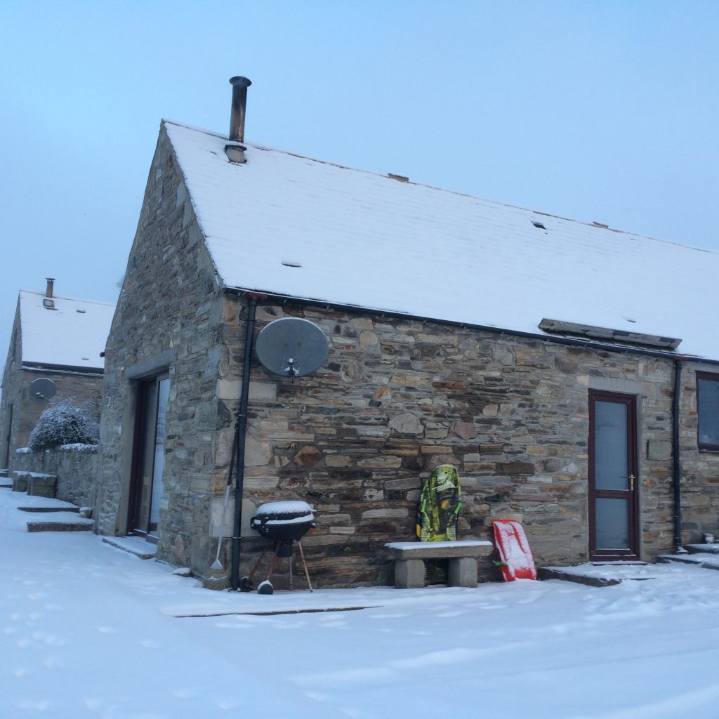 Glenlivet Cottage at Bluefolds, Cairngorms for skiing