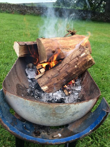 Great shaped Firepit