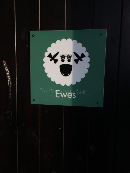 Ewes or ladies loos