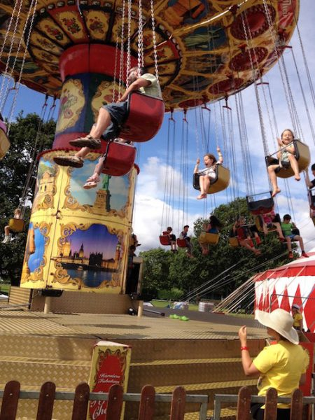 Carousel at the Deershed Festival fair